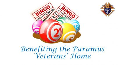 Bingo at Paramus Veterans Home