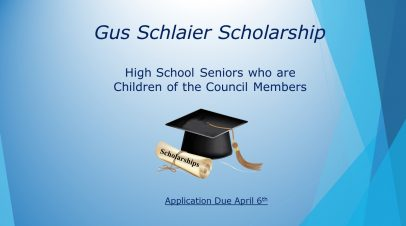 Gus Schlaier Scholarship